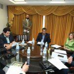 Los diputados de la comisión se reunieron ayer para analizar la petición del Ministerio Público. foto edh / asamblea legislativa