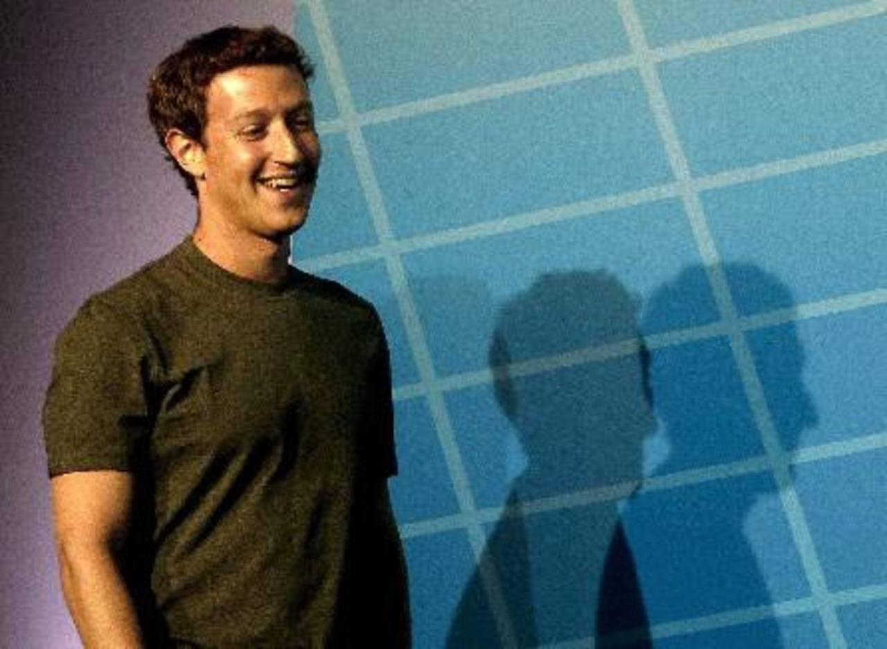 Mark Zuckerberg, durante su intervención en el Mobile World Congress en Barcelona