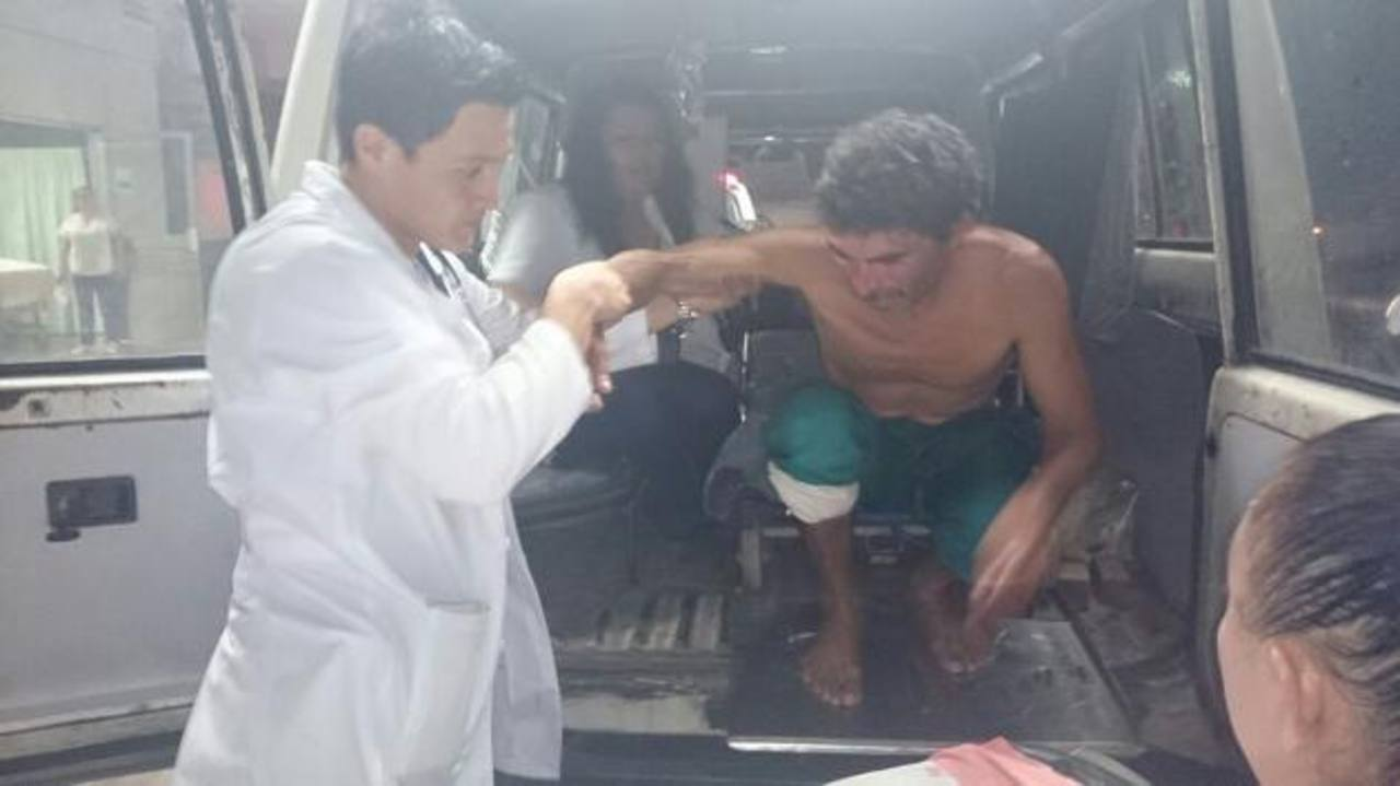 Los pescadores fueron trasladados a San Luis La Herradura, La Paz. Foto EDH / Huber Rosales