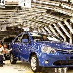 La planta en Venezuela paralizará su trabajo a medida que se agote el inventario de autopartes para ensamblar, según comunicó la empresa a sus empleados. Foto edh / ARCHIVO