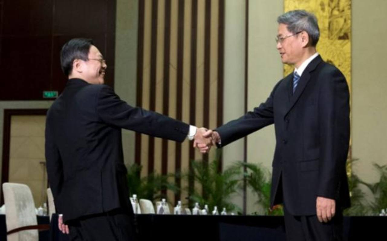 Tras 65 años, se reúnen China y Taiwán