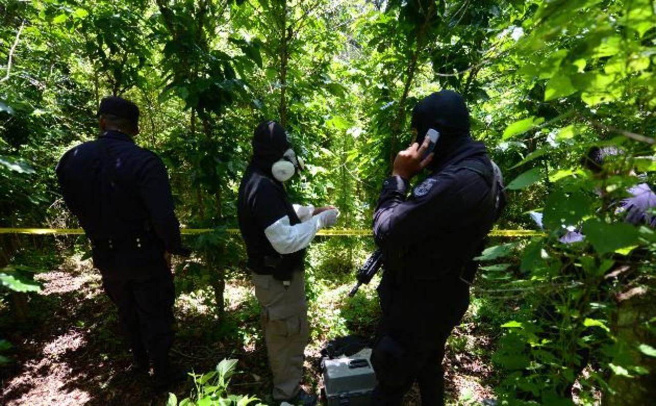 Las autoridades informaron del hallazgo de dos cadáveres en la zona de Cutumay Camones. Foto EDH / Archivo