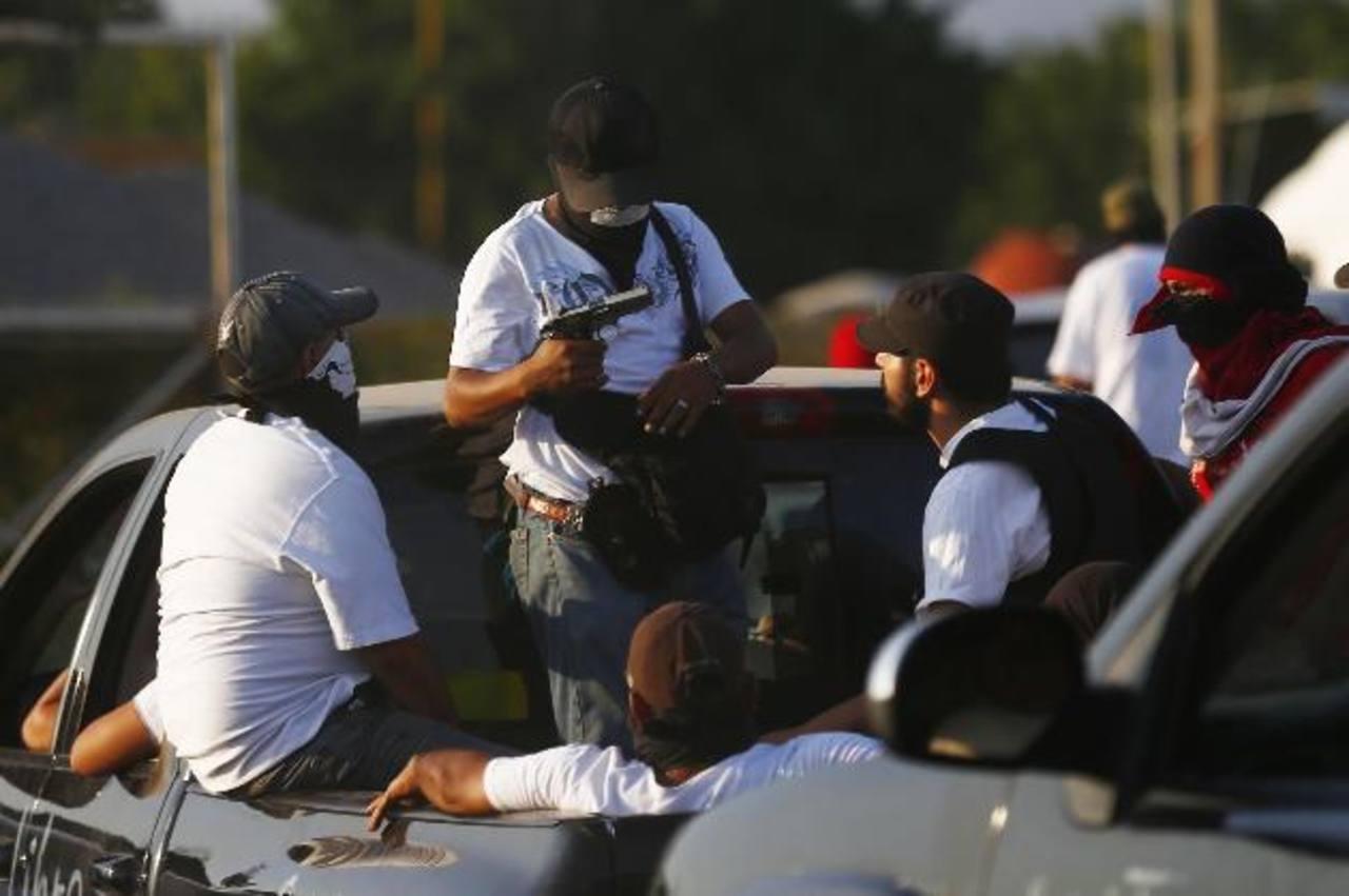 Las autodefensas entraron en Apatzingán, que hace poco era un bastión de Los Caballeros Templarios. Foto edh / reuters