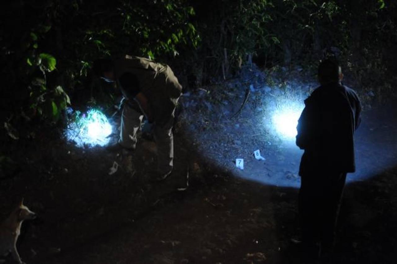 Seis personas fueron asesinadas afuera de una iglesia Evangélica en Tacuba, Ahuachapán, el 11 de enero. Foto/ Archivo
