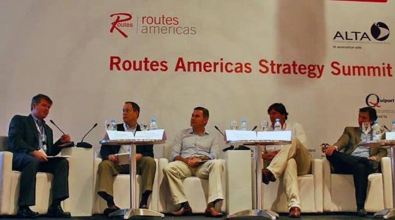 Routes Americas 2013, tuvo lugar en Cartagena de Indias, Colombia. foto edh En el evento habrá representación de más de 70 líneas aéreas. foto edh / archivo