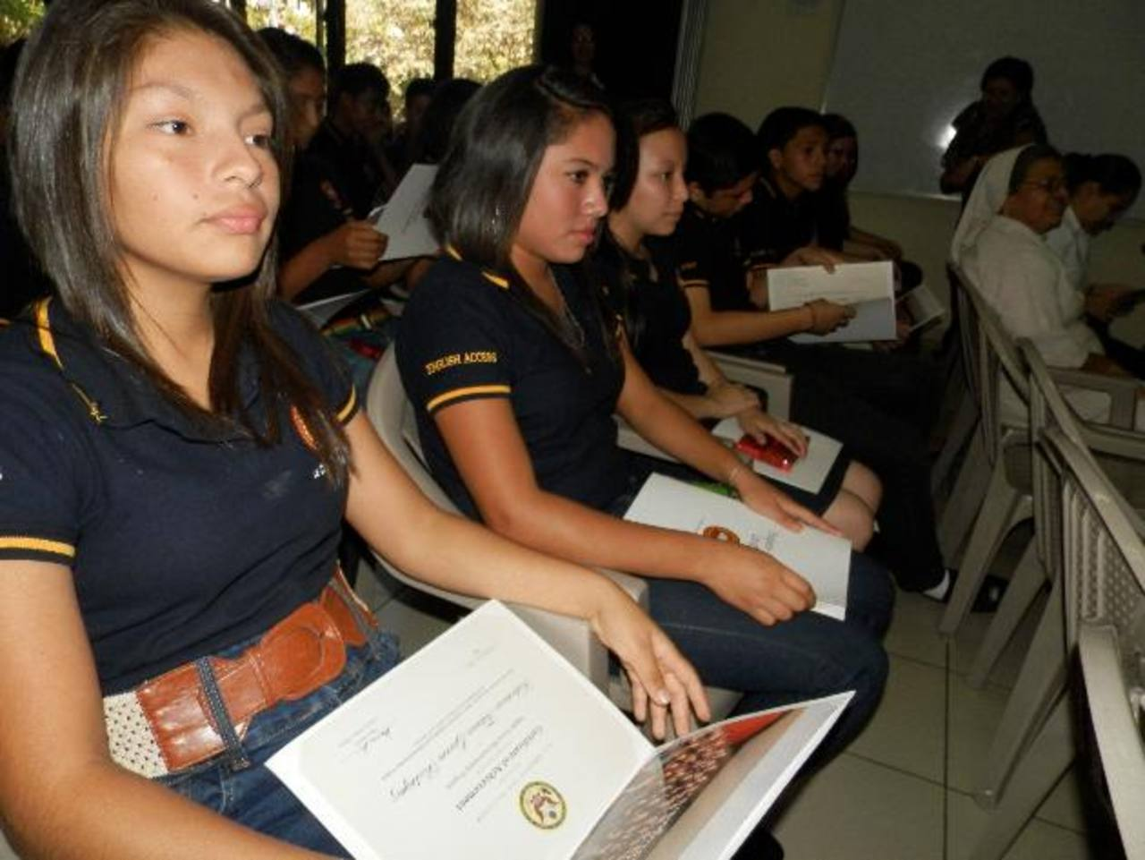 Los jóvenes se sometieron a un proceso de aprendizaje que duró dos años. foto edh / MILTON JACO
