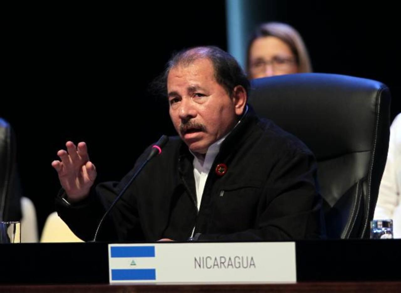 Daniel Ortega está en su tercer mandato consecutivo.