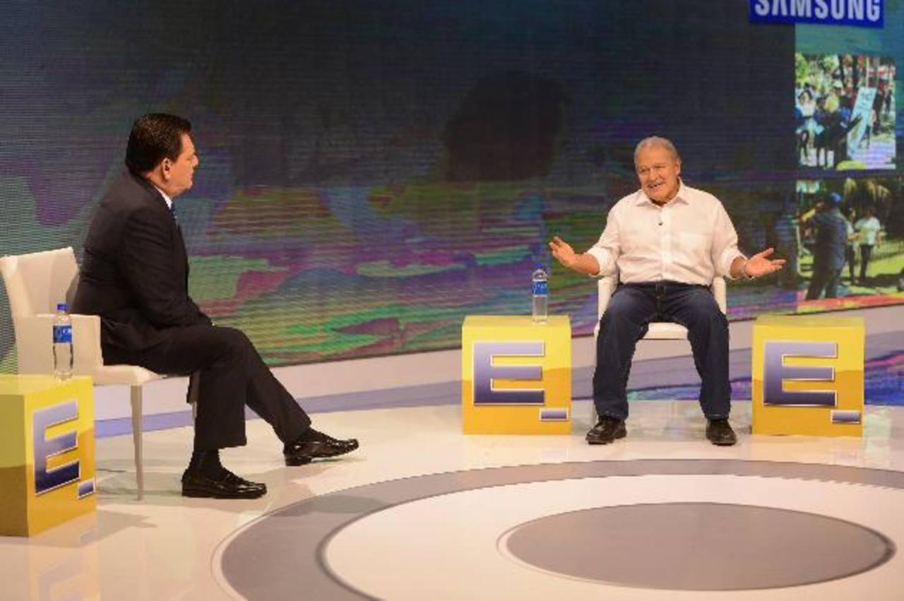 Sánchez Cerén detrás de la escena electoral