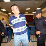 """Ricardo Morales dijo que estaba """"feliz"""" con el fallo. La Fiscalía pedía una condena de 30 años de cárcel. Foto EDH / Jorge Reyes."""