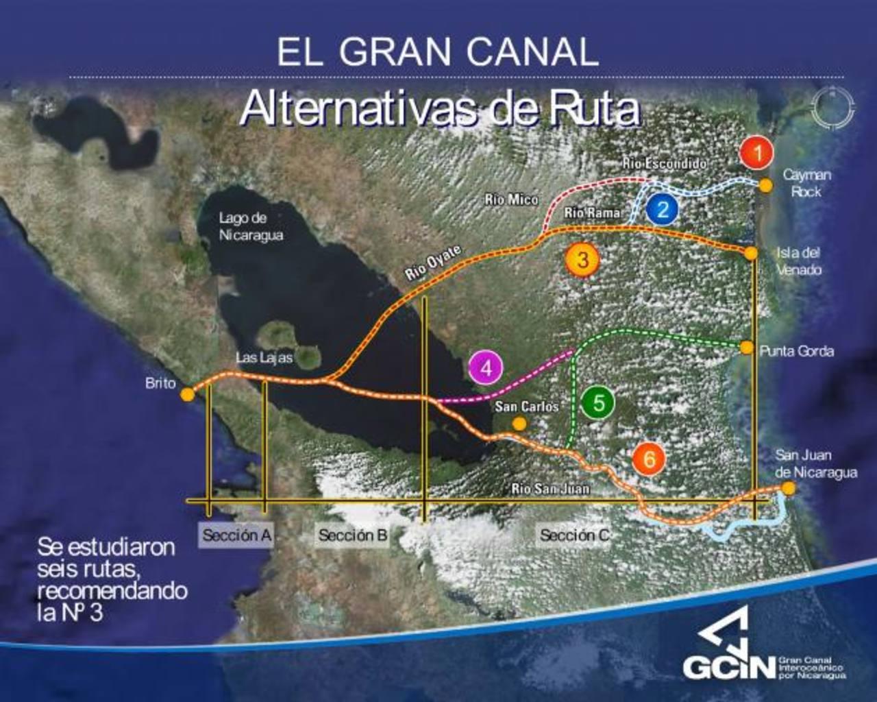 Por concluir estudio para canal interoceánico en Nicaragua