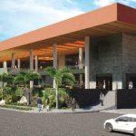 Así lucirán las nuevas terrazas de Multiplaza El Salvador, una vez que concluyan los trabajos de remodelación que se llevan a cabo actualmente.