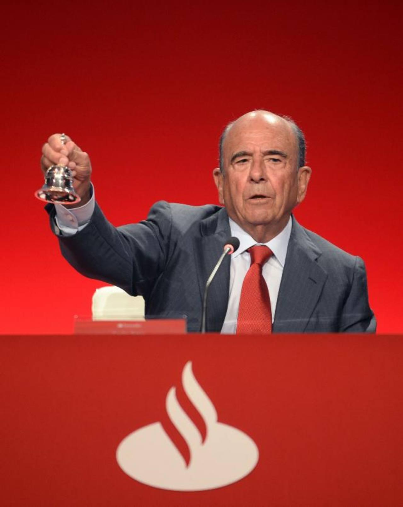 Emilio Botín, CEO de Banco Santander.