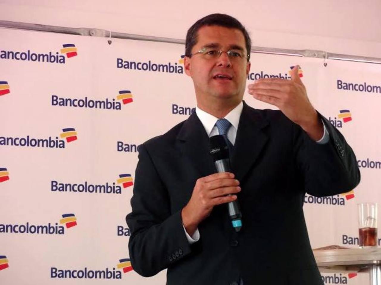 """Yepes lidera una nueva ola de ejecutivos colombianos bajo la filosofía de un valor agregado """"más humano"""" en la banca y las finanzas. FOTO EXPANSIÓN / JUAN JOSÉ MORALES"""