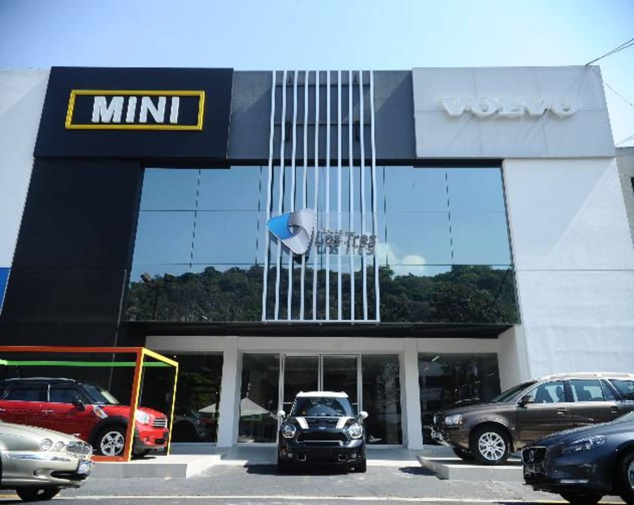 Con la llegada de la marca Mini y los nuevos modelos de Volvo, el Grupo Los Tres, ha experimentado un aumento en sus ventas, En el país cuenta con dos sucursales.