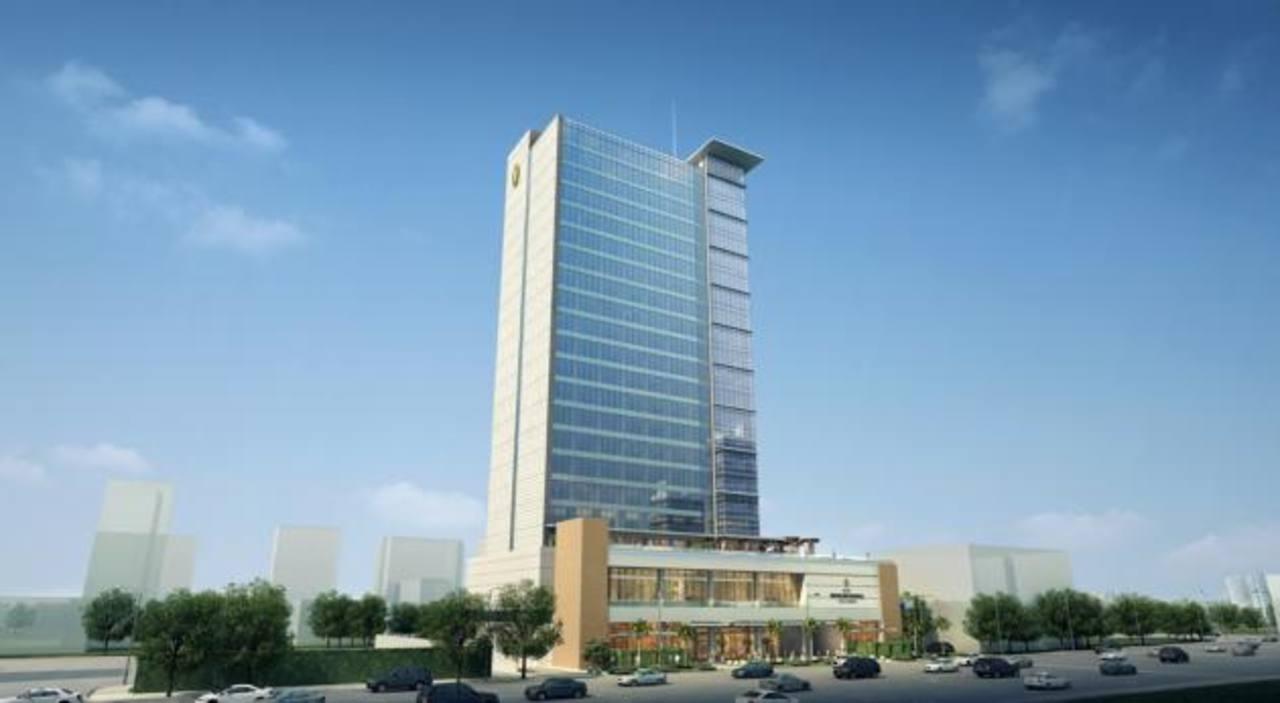 Imagen digital del hotel Real Intercontinental que Grupo Poma está construyendo en Santo Domingo, República Dominicana, con una inversión de $70 millones.