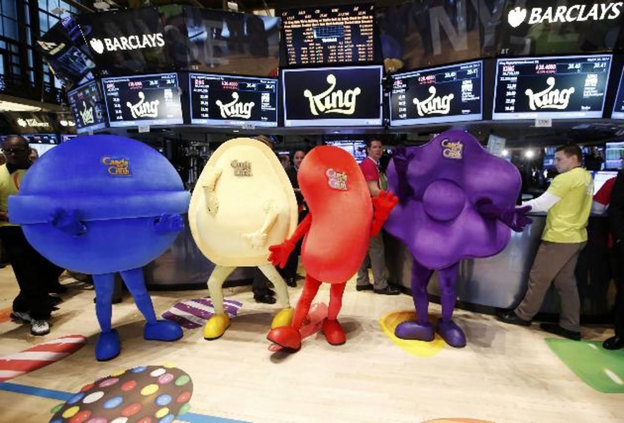 El juego Candy Crush debutó en Wall Street, sin cumplir las expectativas del mercado.