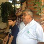 El ingeniero Valero Lecha se dedicaba a la naturaleza en el Vivero El Patio. foto EDH/ cortesía Facebook Ignacio lecha