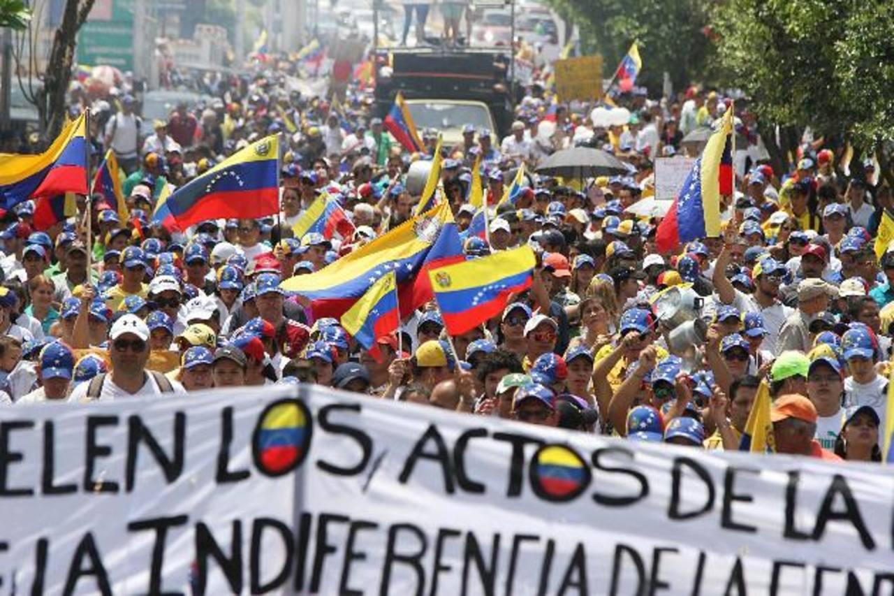 Defensoría venezolana contabiliza 21 muertos en protestas contra Maduro