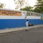 La Escuela Parvularia María Luisa Marcia, de La Unión, atienden 760 niños. Foto EDH / INSY MENDOZA