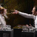 Fotos: Guerra de agua entre Lindsay Lohan y Jimmy Fallon