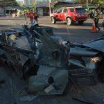 Mario Flores Bermúdez fue detenido a pocas cuadras del lugar del accidente cuando intentó escapar. Foto EDH / Archivo
