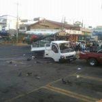 Este es el accidente en Sonsonate. FOTO EDH Marlon Beltrán.