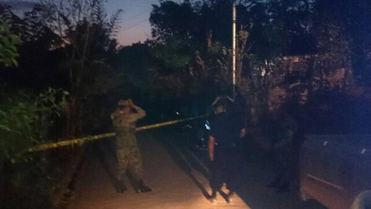 Una mujer fue asesinada, esta tarde, supuestamente por su esposo, según la PNC. Foto vía Twitter Diana Escalante