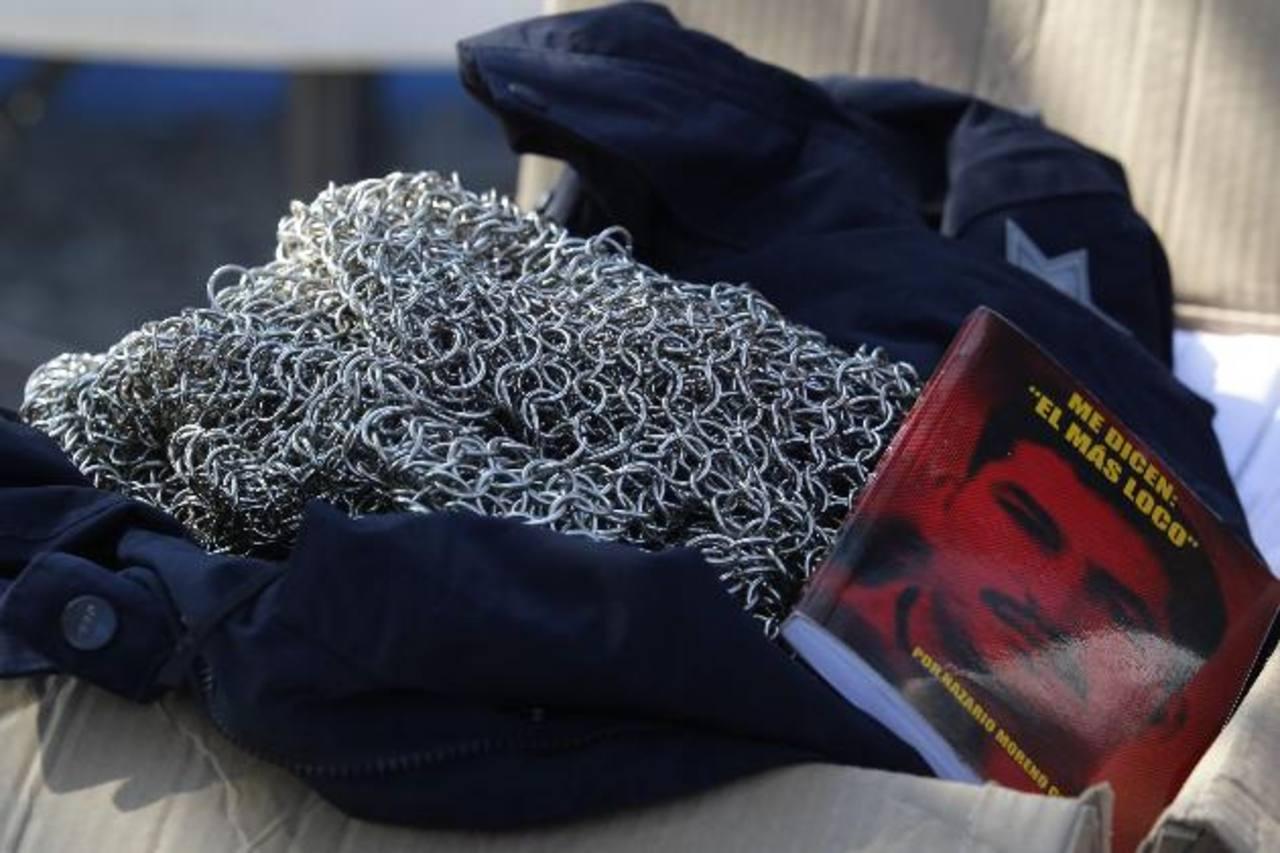 """Algunas de las pertenencias de """"El Chayo"""" decomisadas en enero de este año en una de las casas que ocupaba el capo de la droga. Foto/ Archivo"""