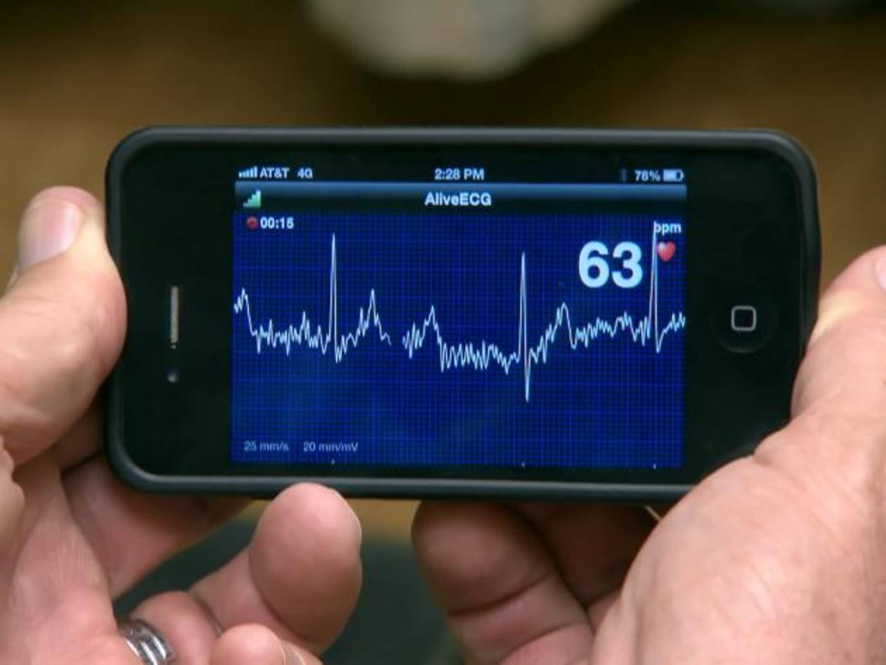 Cada vez hay más aplicaciones de salud descargables para dispositivos móviles.