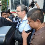 Jueza ordena libertad bajo fianza a exministro Jorge Nieto