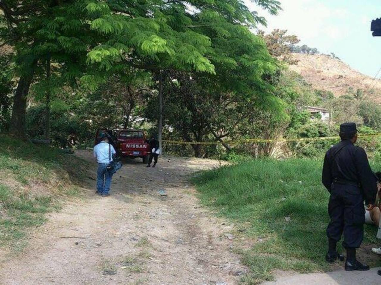 En esta zona fue asesinado un joven en Ayutuxtepeque.