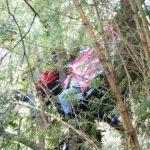 Fotos: Accidente de helicóptero en zona de San Marcos