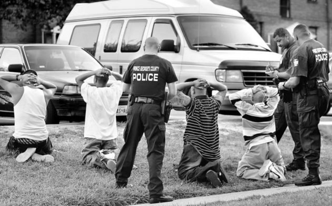 Arrestan a 10 pandilleros en Maryland