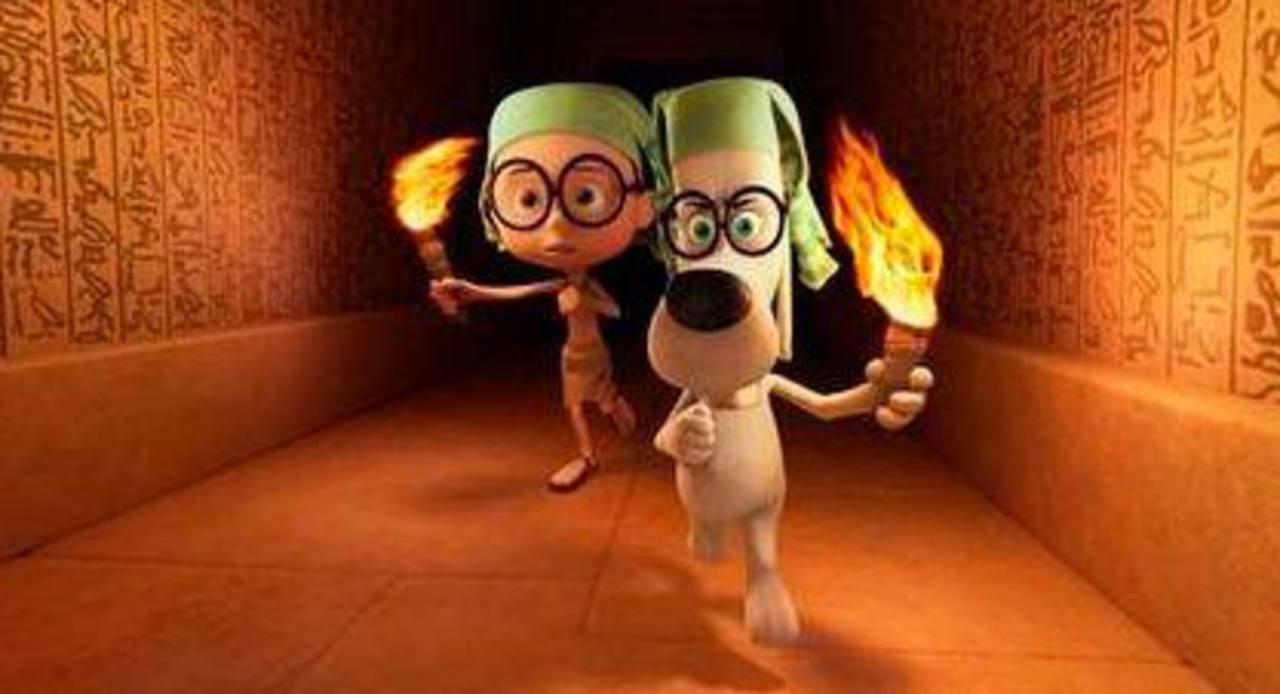 """Una de las escenas de la película animada """"Mr Peabody & Sherman"""" de DreamWorks Animation. Foto/ AP"""
