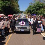 FOTOS: Sepultan a víctimas de accidente en Sensuntepeque