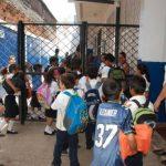 La escuela Victoria Zelaya es una de las que nmo han recibido el desembolso del bono educativo. foto edh / insy mendoza