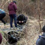 Tras una lluvia de meteoritos hace algunos días, muchas personas han acudido a la localidad de Jinju en la búsqueda de restos del objeto espacial. Foto tomada de internet