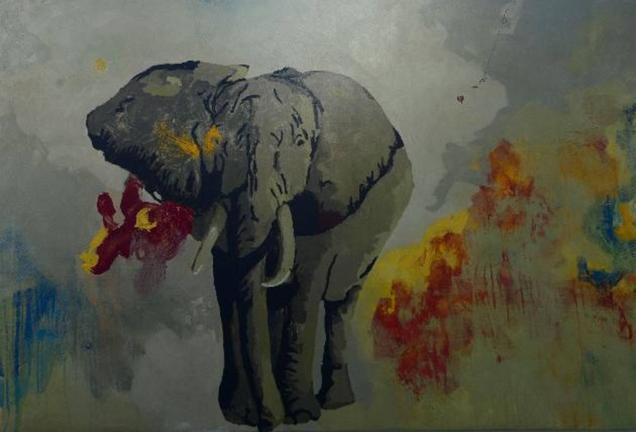 """Arte y color en la muestra """"Discursos Contemporáneos"""""""