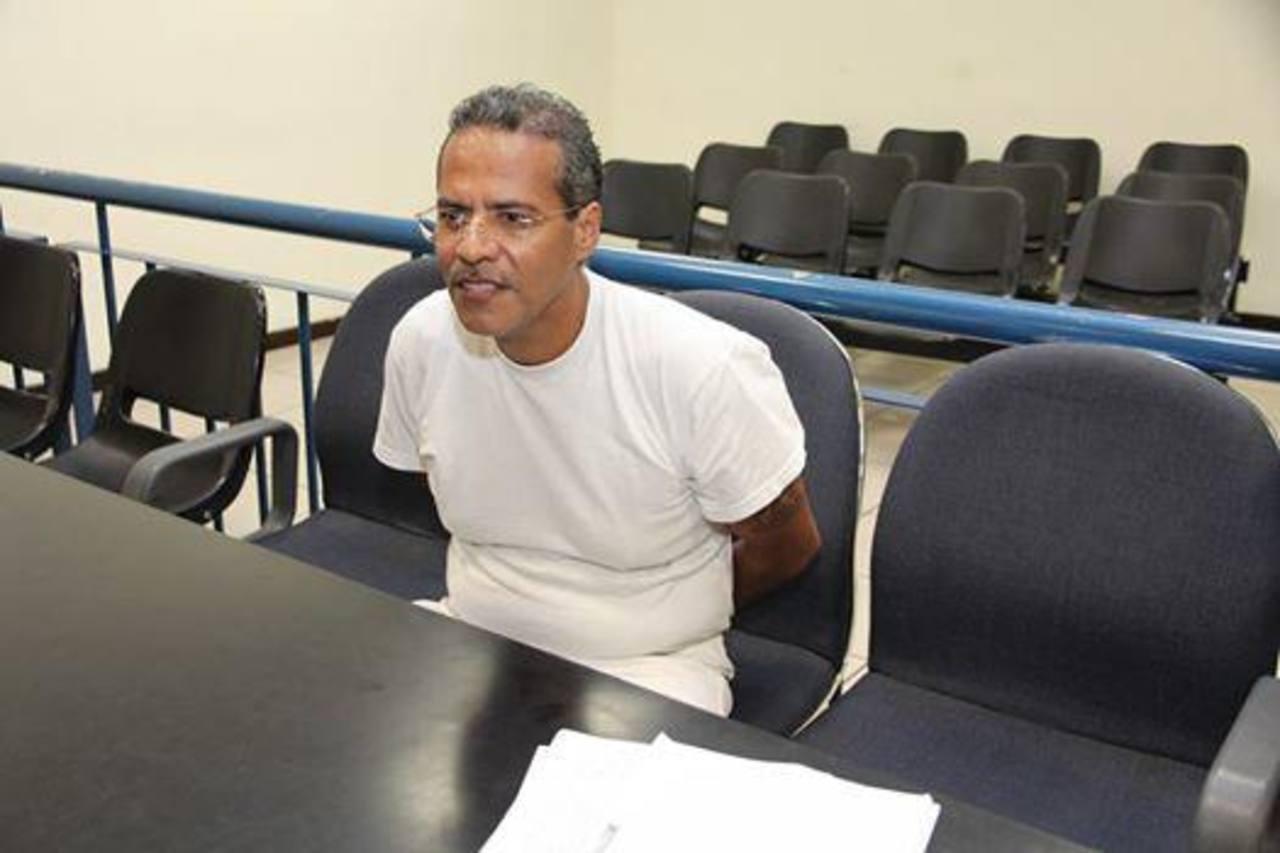 El recluso beneficiado. FOTO EDH Cortesía Centro Judicial Isidro Menéndez.
