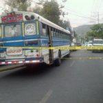 Bus de la 38 fue ametrallado por presuntos pandilleros.