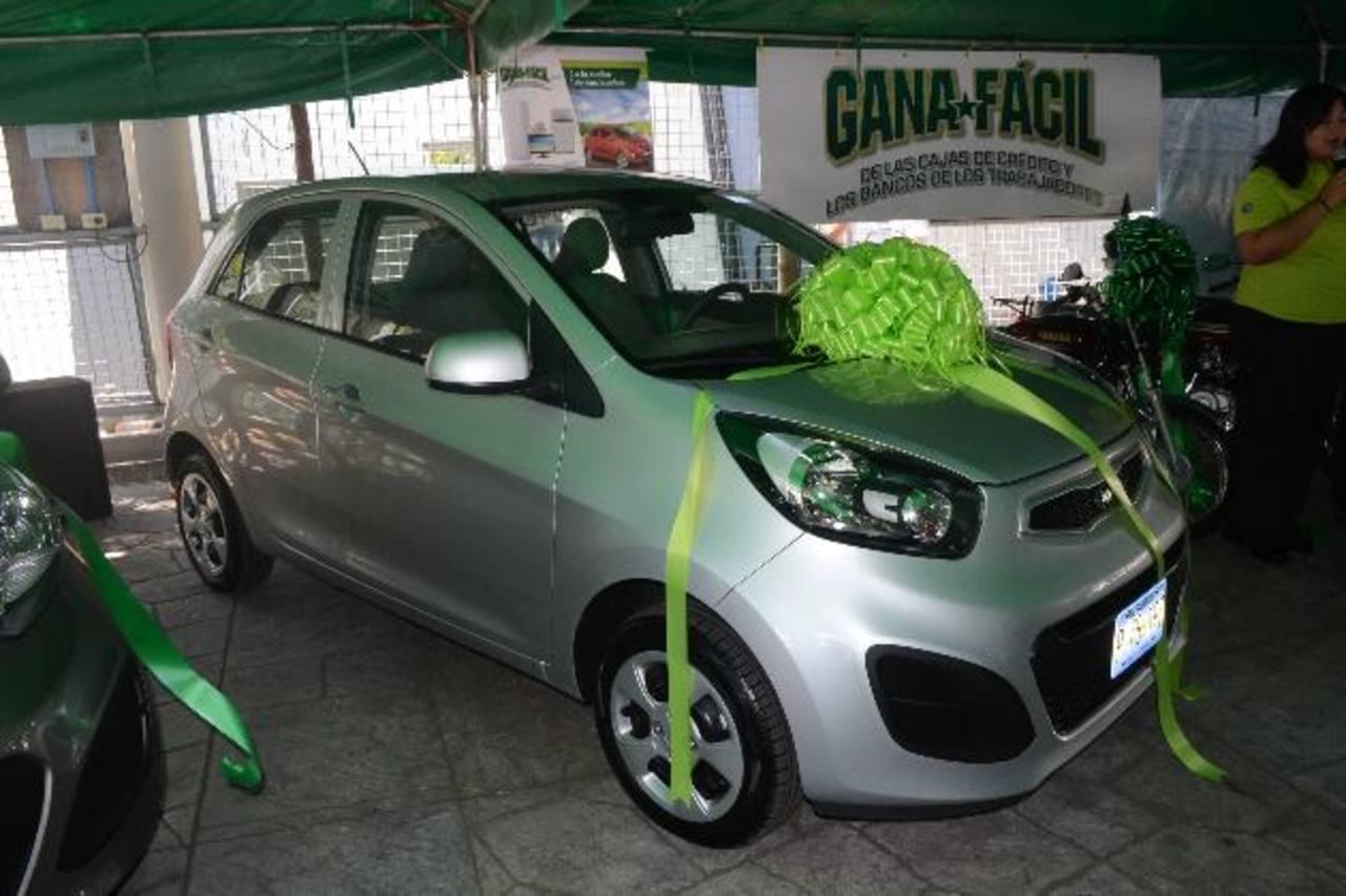 Participantes del sorteo tuvieron la posibilidad de ganarse un vehículo último modelo.