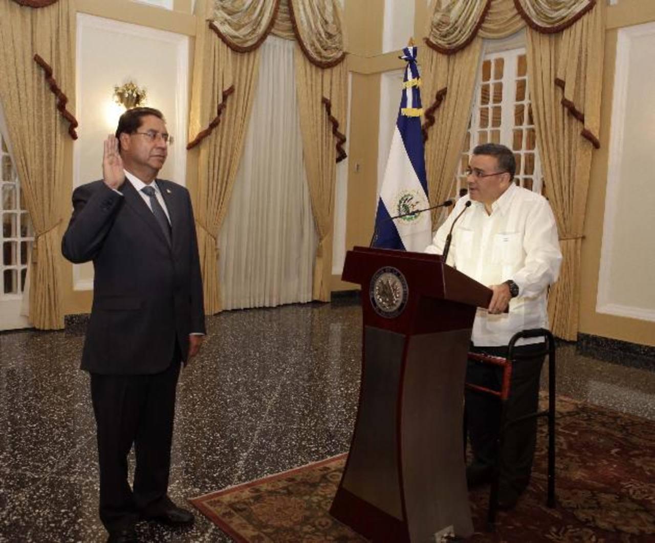 Hugo Barrientos, nuevo titular de CEPA. foto edh/Cortesía