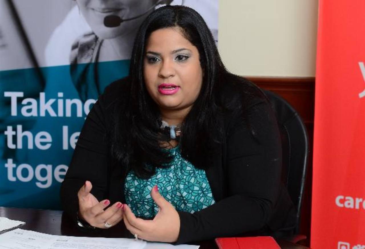 Nairim Avila es directora regional de Convergys, propietaria de Stream. EDH/Omar Carbonero