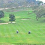 El campo de golf está diseñado y construido en un área de 90 manzanas de terreno y es obra de una firma española, reconocida a nivel mundial. foto EDH/ césar avilés