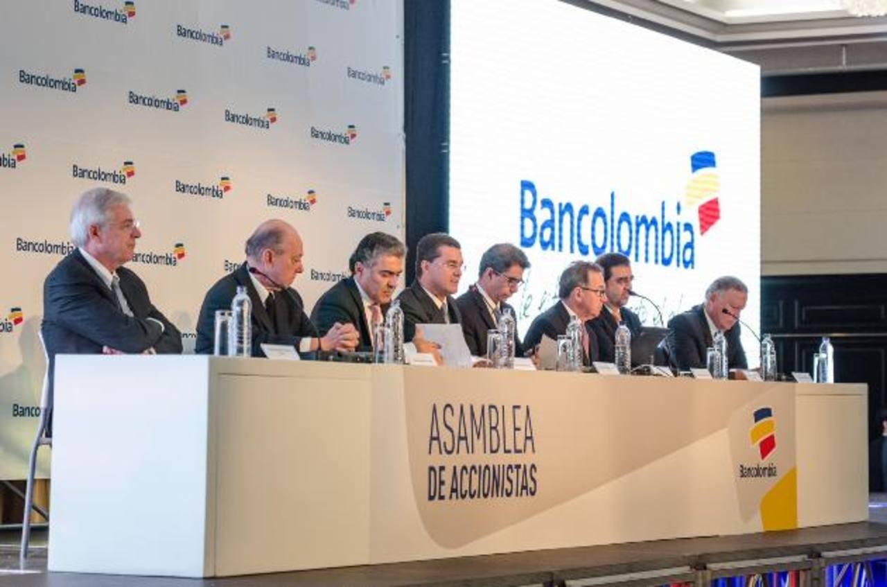Los accionistas de Bancolombia se reunieron ayer para conocer las propuestas e ingresos. Foto EDH /cortesía Bancolombia
