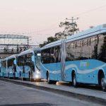 Al país solo han llegado 37 autobuses, de un total de 190. Foto EDH / archivo