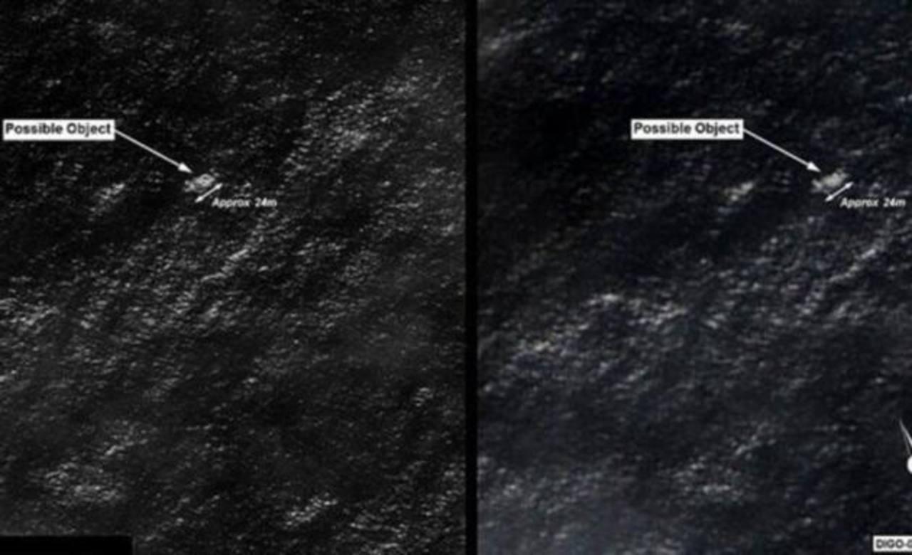 Los posibles objetos que han hallado las autoridades de Australia. foto edh / internet