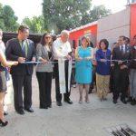 Ayer se llevó a cabo la inauguración de la sede de la Fundación Azteca en la Ciudad Morena. Foto EDH/Mauricio Guevara
