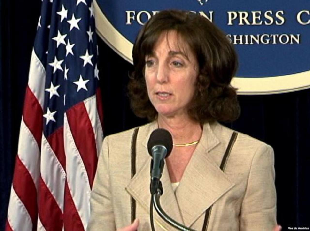 La subsecretaria de Estado para el Hemisferio Occidental, Roberta Jacobson. Foto tomada de Internet