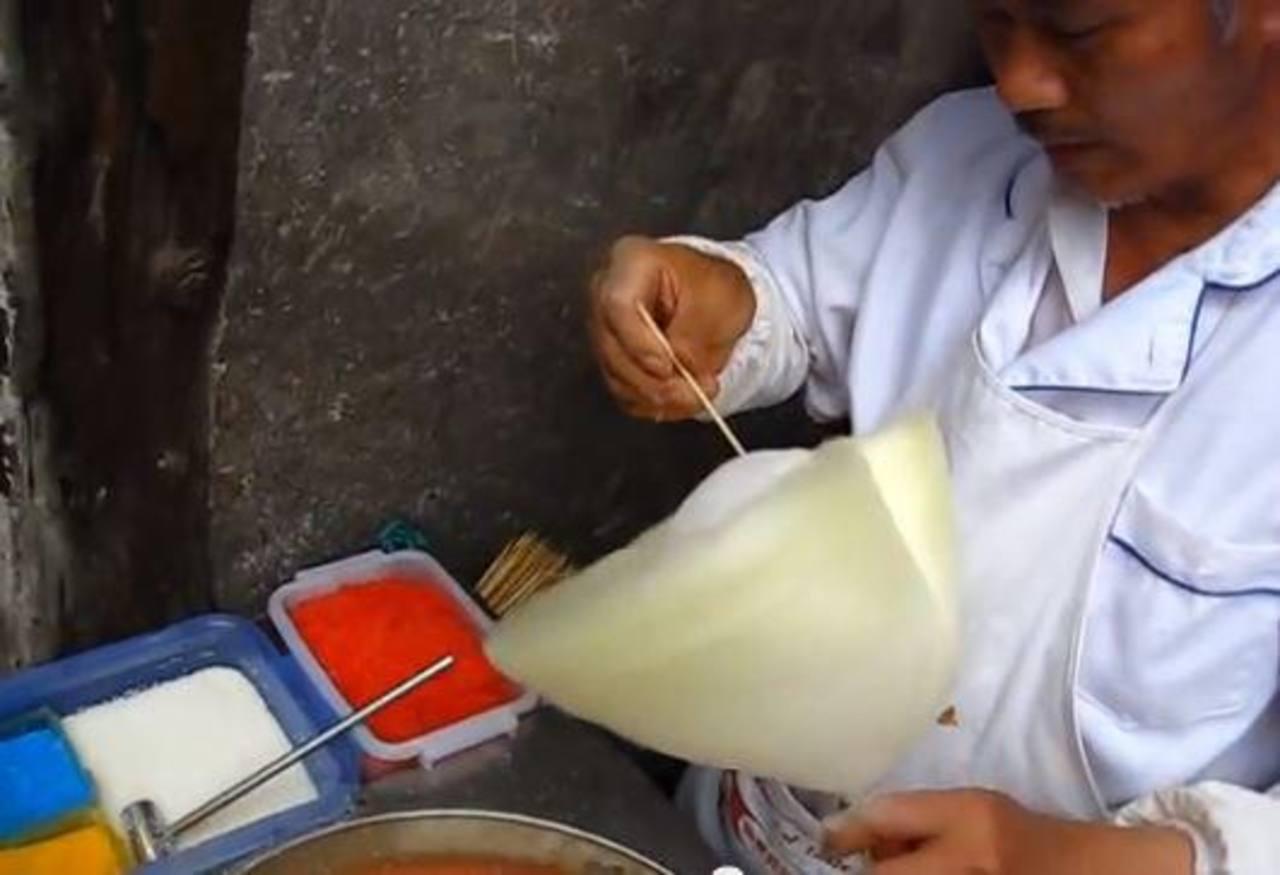 Videos: Ellos le ponen más sabor al algodón de azúcar